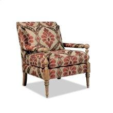 Sun-Bleached Wood Accent Chair