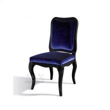 A&X Margaret Purple Velvet Side Chair