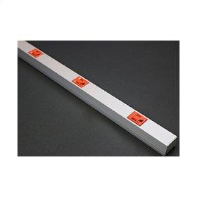 AL20IG506 Aluminum Plugmold® Multioutlet Strip