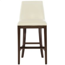 Bailey Leather Counter Stool in Cocoa
