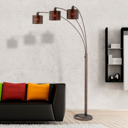 60W X 3 Mica Arc Lamp With Heavy Base