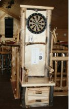 Pool Table & Dartboard Console Product Image