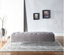 Emerald Home Lacey Upholstered Bench Gray B132-36-05