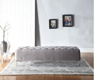 Upholstered Lacey Bench