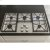 """Additional Distinctive 30"""" Gas Cooktop,, in Black with Natural Gas High Altitude"""
