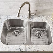 Portsmouth Left Bowl Stainless Steel Kitchen Sink Grid  American Standard - Stainless Steel