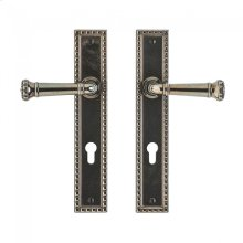 "Corbel Rectangular Multi-Point Entry Set - 2"" x 11"" Silicon Bronze Brushed"