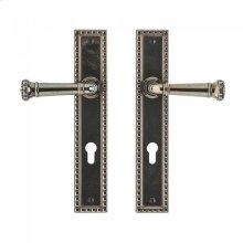 "Corbel Rectangular Multi-Point Entry Set - 2"" x 11"" Silicon Bronze Brushed"