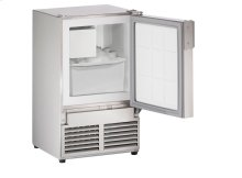 "Marine Series 14"" Marine Crescent Ice Maker With Stainless Solid Finish and Field Reversible (no Flange) Door Swing"