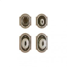 "Ellis Entry Set - 3"" x 5"" Silicon Bronze Brushed"