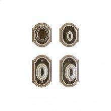 """Ellis Entry Set - 3"""" x 5"""" Silicon Bronze Brushed"""