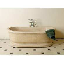 Old World Bathtub Papiro Cream Marble