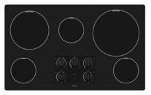 36-inch Electric Cooktop with Two Power Cook Burners