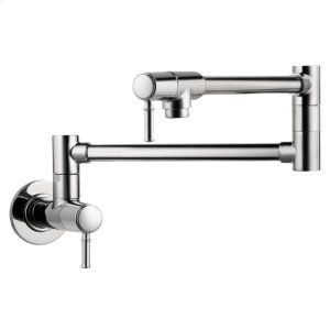 Chrome Talis C Pot Filler, Wall-Mounted Product Image