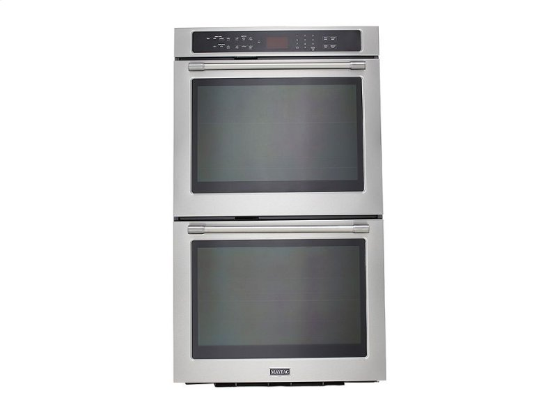 27 Inch Wide Double Wall Oven With True Convection 8 6 Cu Ft