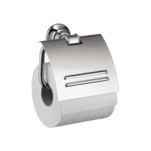 Chrome Roll holder with cover