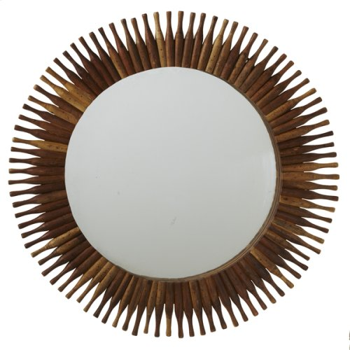 Repurposed Roller Pin Wall Mirror (Each One Will Vary)