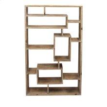 Wooden Wall Shelf, Brown