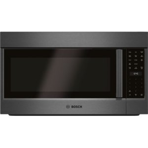 BOSCH800 Series Over-The-Range Microwave 30'' Black stainless steel, Door Hinge: Left