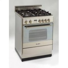 "Model DG2401C - 24"" Gas Range Stainless Steel"