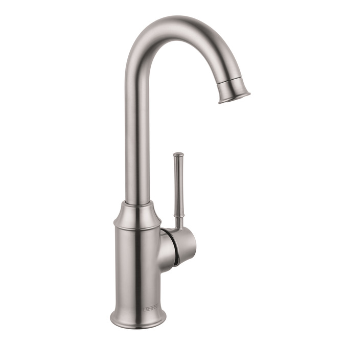 Stainless Steel Finish Talis C Bar Faucet, 1.5 GPM