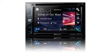 "Multimedia DVD Receiver with 6.2"" WVGA Display, MIXTRAX "", Built-in Bluetooth ® , SiriusXM-Ready """