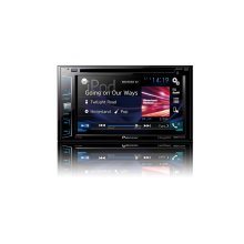 "Multimedia DVD Receiver with 6.2"" WVGA Display, MIXTRAX , Built-in Bluetooth ® , SiriusXM-Ready"