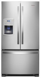 35-inches wide Counter-Depth French Door Refrigerator - 20 cu. ft. Product Image