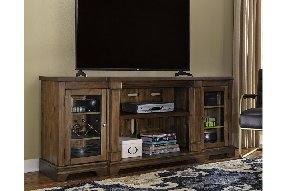W71968ashley Furniture Xl Tv Stand W Fireplace Option Westco Home