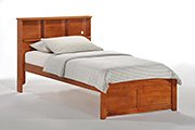 Butterscotch Bed in Cherry Finish Product Image