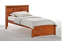 Butterscotch Bed in Cherry Finish - twin size