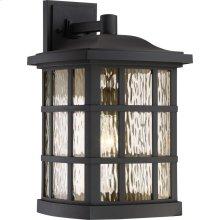 Stonington Outdoor Lantern in Mystic Black