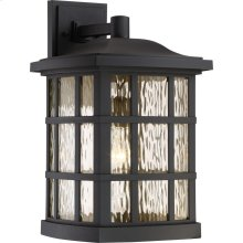 Stonington Outdoor Lantern in Mystic Black