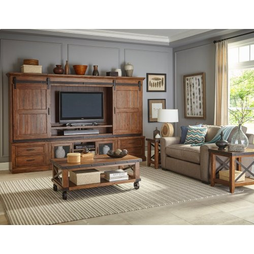 Living Room - Taos Four Piece Wall Unit