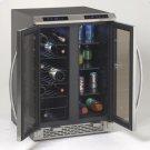 Model WBV19DZ - Side-by-Side Dual Zone Wine/Beverage Cooler Product Image
