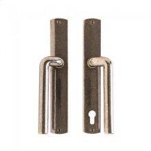 "Convex Patio Sliding Door Set - 1 3/4"" x 11"" Silicon Bronze Brushed"