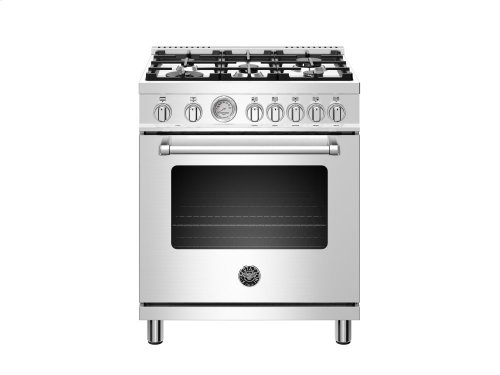 30 inch 5-Burner, Electric Oven Stainless