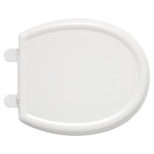 Cadet 3 Slow Close Round Front Toilet Seat with EverClean - White