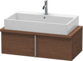 Vero Vanity Unit For Console Compact, American Walnut (real Wood Veneer)