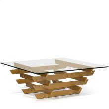 Toola Square Glass Top Coffee Table