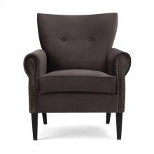 Crestly Velvet Accent Chair