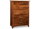 Glengarry 5 Deep Drawer Hiboy Chest Product Image