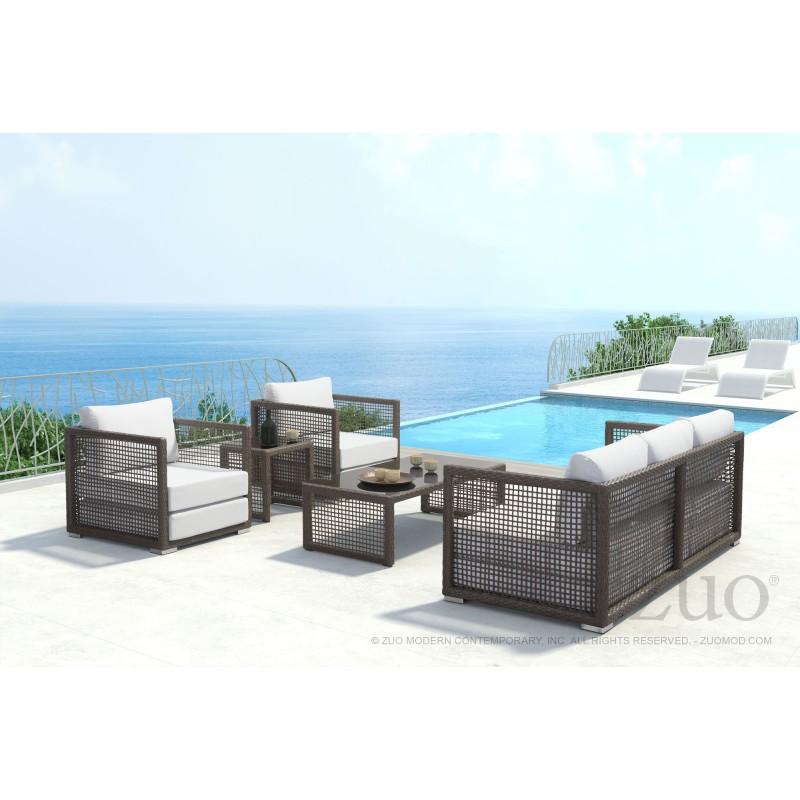 Additional Coronado Sofa Cocoa U0026 Light Gray