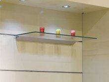 Level Adjustable Wall Shelving System