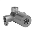 "Wall-mounted washbasin mixer control rough valve for trim 26809 1/2"" connections Drain not included - See DRAINS section Product Image"