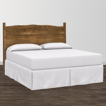 Bench*Made Maple Cal King Upholstered Panel Bed
