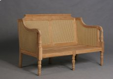 Henri Outdoor Loveseat with Resin Wicker Product Image