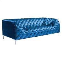 Providence Sofa Blue Velvet
