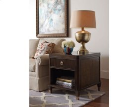 Drawer End Table