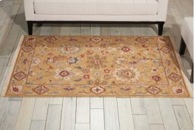 Nourmak S174 Gold Rectangle Rug 3'10'' X 5'10''